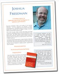 Joshua Freedman, Keynote Speaker